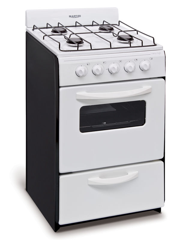 Cocina 4 hornallas con horno aprobada martiri gas natural - Cocinas de gas natural con horno ...
