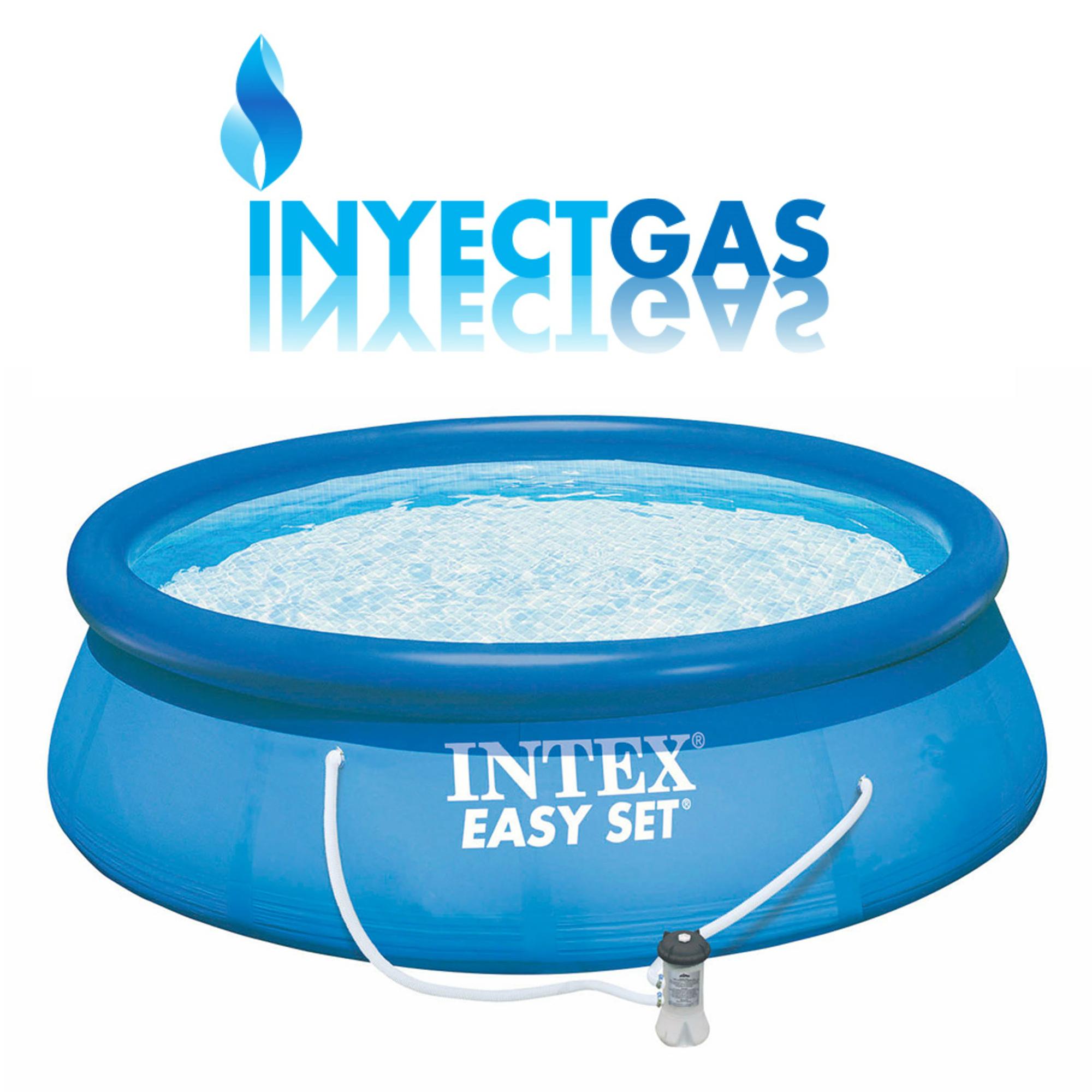 Pileta intex easy set 457 x 122 cm bomba filtrante for Piletas estructurales intex precio